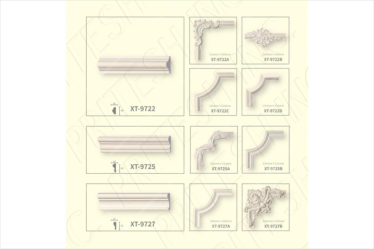 PU Panel Molding Cornrer, PU Panel Molding Suppliers