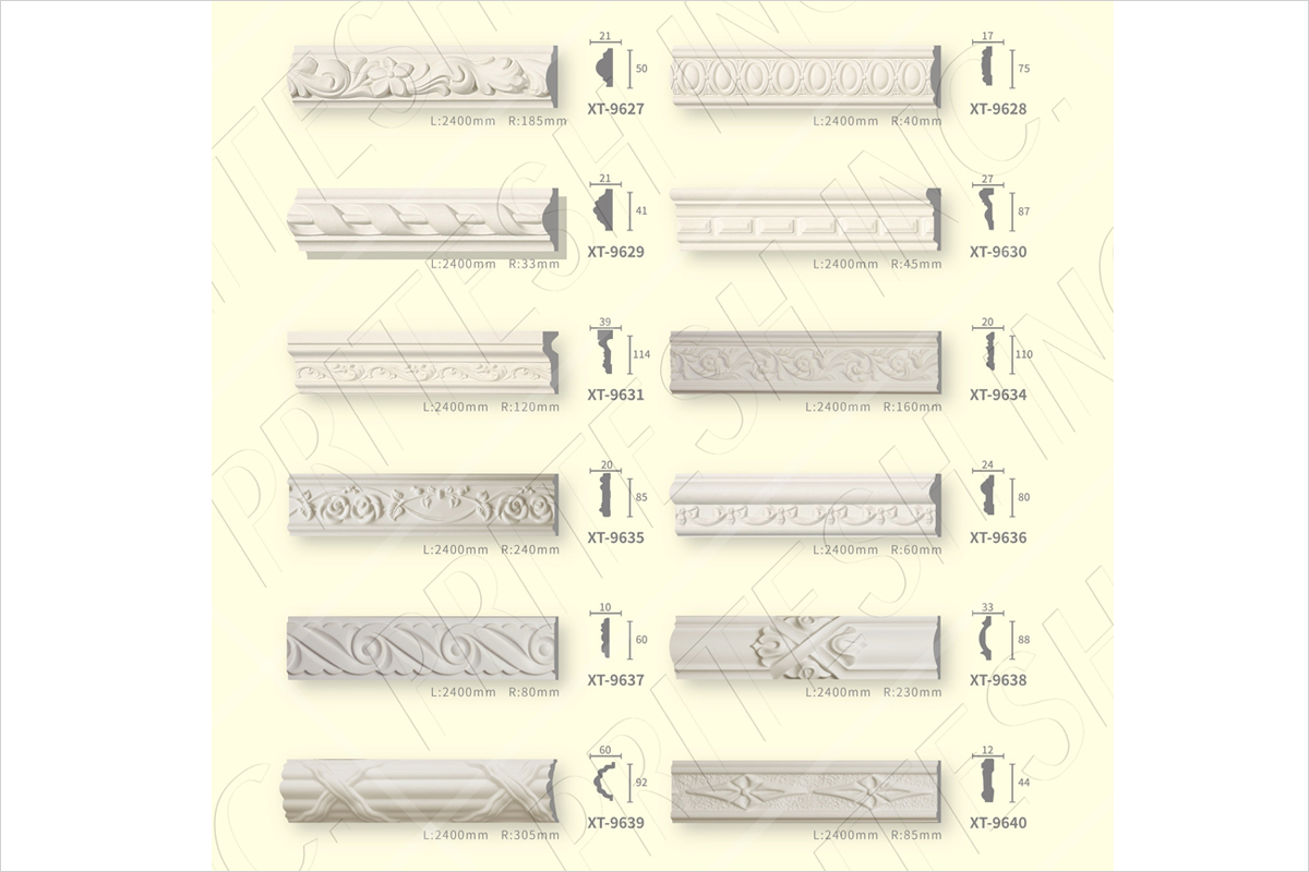 PU Panel Molding, Carved Panel Moldings, Combination Panel Moldings